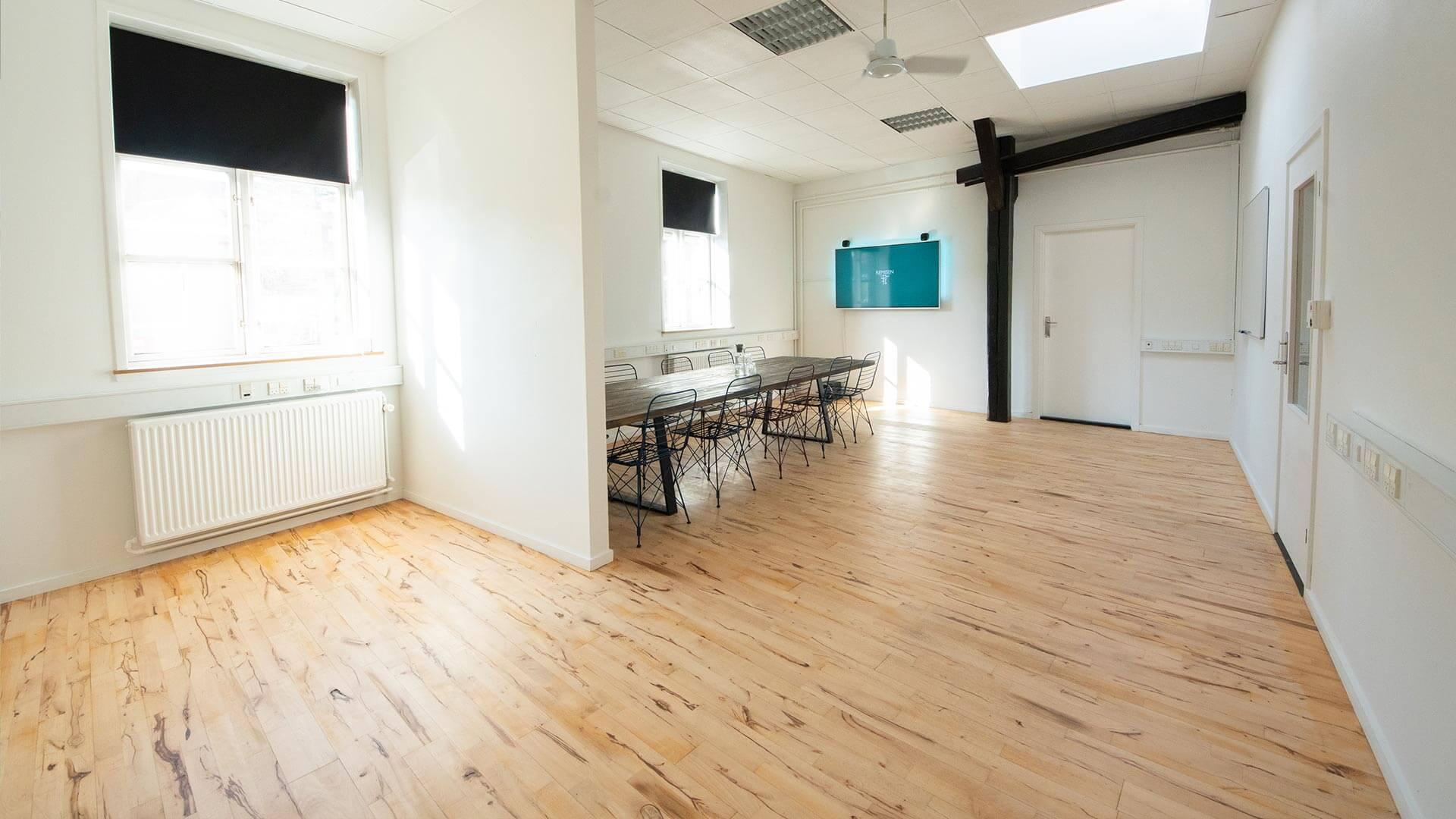 Mødelokale i Næstveds inkubator