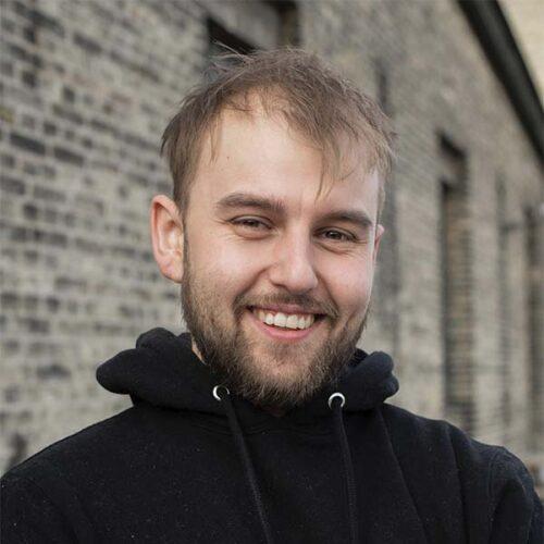 Portræt af Jacob Britze som ejer Remisen Næstved