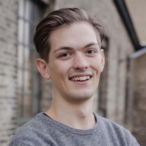 Portræt af Jakob Spodsberg som ejer Remisen Næstved